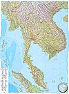 Thailand, Vietnam, Laos, Kambodscha 1:2 Mio. (Business Map)