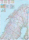 Norwegen (Nord) 1:800.000 (Business Map)