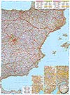 Spanien, Portugal (Ost) 1:800.000 (Business Map)