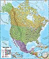 North America political 1:7 M