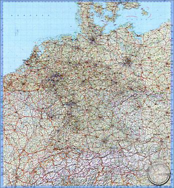 Karte Süddeutschland österreich Schweiz.Straßenkarte Deutschland österreich Schweiz Niederlande Belgien Luxemburg