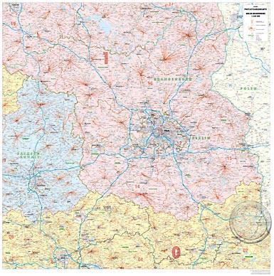 Postleitzahlen Karte Brandenburg.Berlin Brandenburg Plz 2