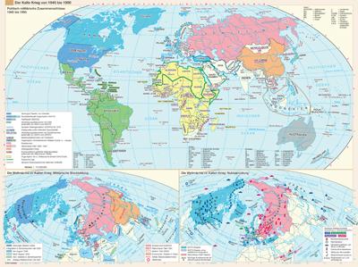 Kalter Krieg Karte.Der Kalte Krieg Von 1945 Bis 1990