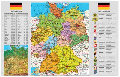 0 00 Kostenlos Deutschlandkarte Politisch Online Wandkarten