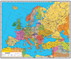 Europe Political map by Wenschow NEW