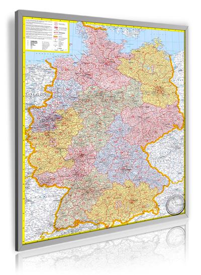 Postleitzahlenkarte Deutschland I