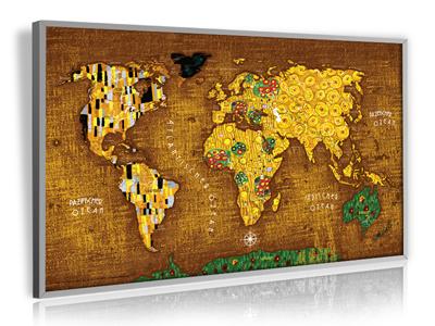 Art-Weltkarte