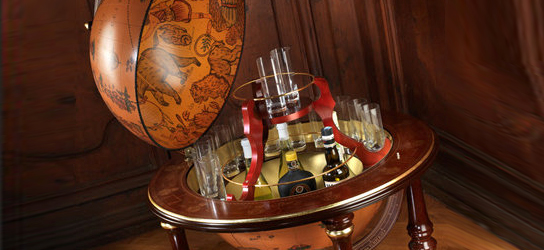 Das ist Bild Barglobus Globus Bar Rubrik Globen