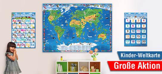 Kinder-Weltkarte