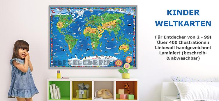 Kinder Weltkarte kaufen