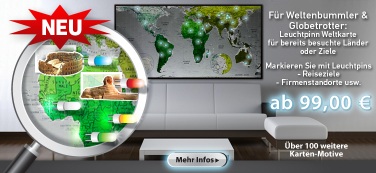 LED Weltkarte kaufen