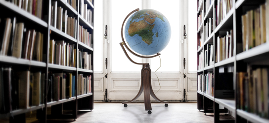 Das ist Bild Standglobus Rubrik Globen