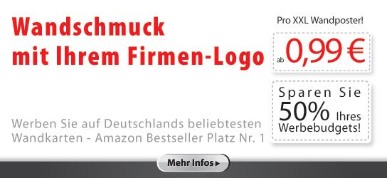 Werbemittel: Wandschmuck mir Ihrem Firmen-Logo