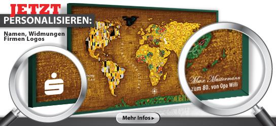 LED Postleitzahlenkarte Deutschland