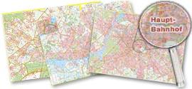 Wandstadtplan